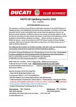 Moto-GP Redbull-Ring 2020