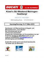 Ski-Weekend 2019