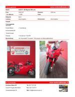 Ducati 999 Biposto zu verkaufen