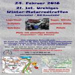 Treffen für winterharte Motorradfahrer