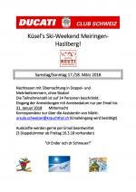 Ski-Weekend 2018